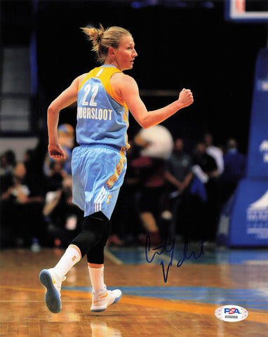 COURTNEY VANDERSLOOT signed 8x10 photo PSA/DNA chicago sky Autographed