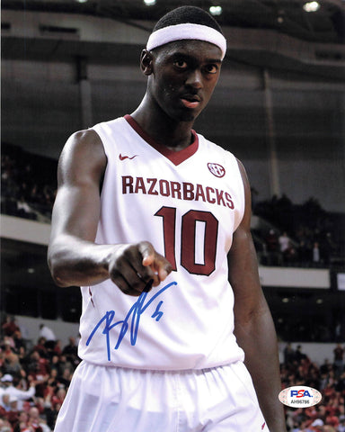 Bobby Portis signed 8x10 photo PSA/DNA Arkansas Razorbacks Autographed