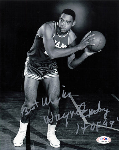 Wayne Embry signed 8x10 photo PSA/DNA Cincinnati Royals Autographed