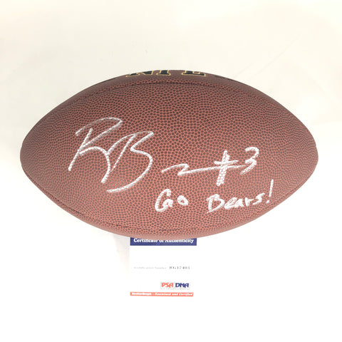 Ross Bowers signed NFL Football PSA/DNA Cal Bears autographed