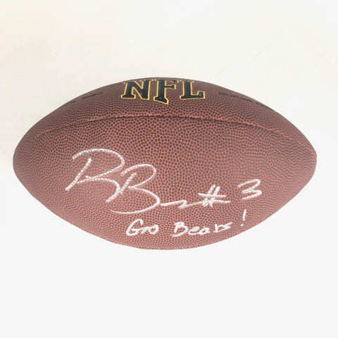 Ross Bowers signed NFL Football BAS Beckett Cal Bears autographed