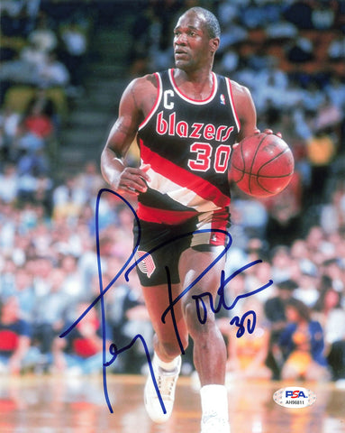 Terry Porter signed 8x10 photo PSA/DNA Portland Trailblazers Autographed