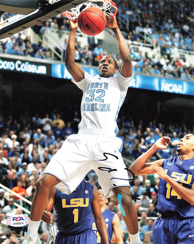 Ed Davis signed 8x10 photo PSA/DNA North Carolina Autographed