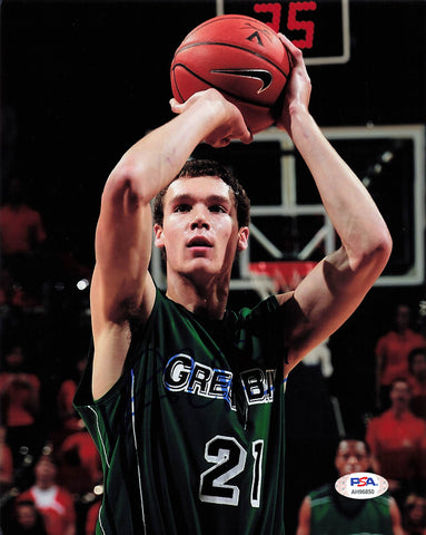 Alec Brown signed 8x10 photo PSA/DNA University of Wisconsin Green Bay Autographed