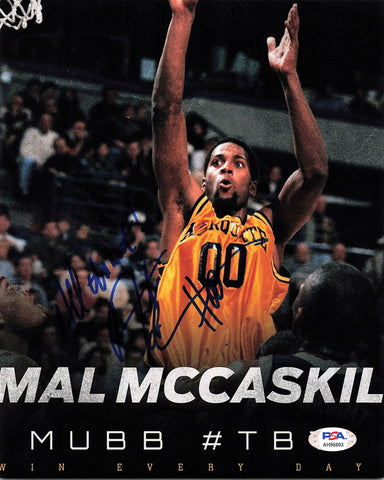 AMAL McCASKILL signed 8x10 photo PSA/DNA Marquette Autographed