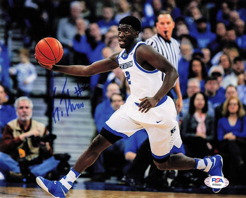 KHYRI THOMAS signed 8x10 photo PSA/DNA Creighton Autographed