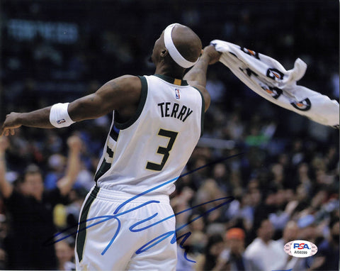 Jason Terry signed 8x10 photo PSA/DNA Milwaukee Bucks Autographed