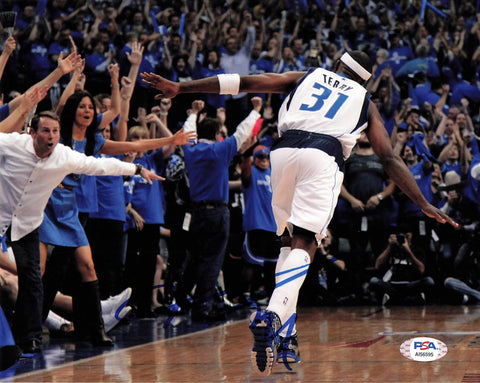 Jason Terry signed 8x10 photo PSA/DNA Dallas Mavericks Autographed