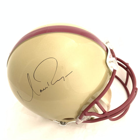 Matt Ryan signed Full Size helmet JSA Boston College autographed Falcons