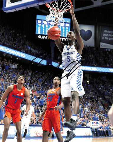Bam Adebayo signed 8x10 photo PSA/DNA Kentucky Miami Heat Autographed