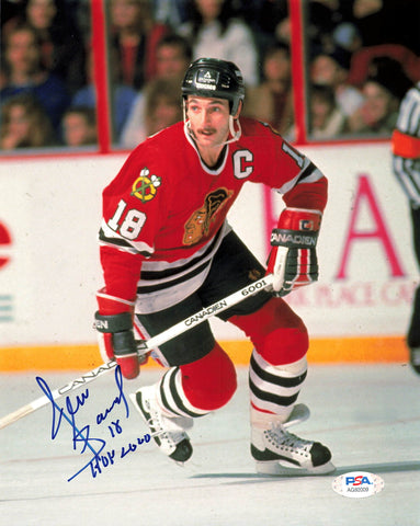 Denis Savard signed 8x10 photo PSA/DNA Chicago Blackhawks Autographed