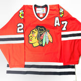 Jeremy Roenick Signed Jersey PSA/DNA COA Chicago Blackhawks Autographed