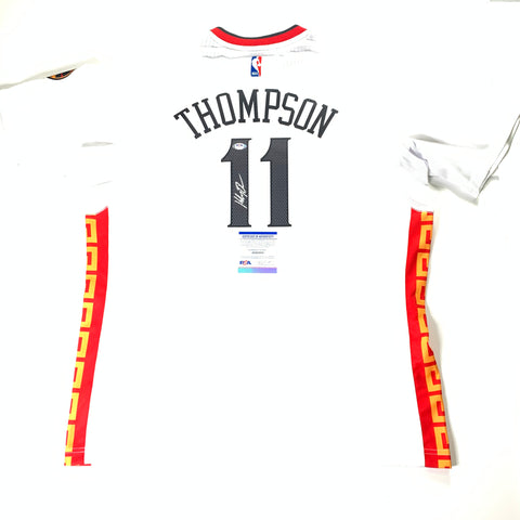 Klay Thompson signed jersey PSA/DNA Golden State Warriors Chinese New Year