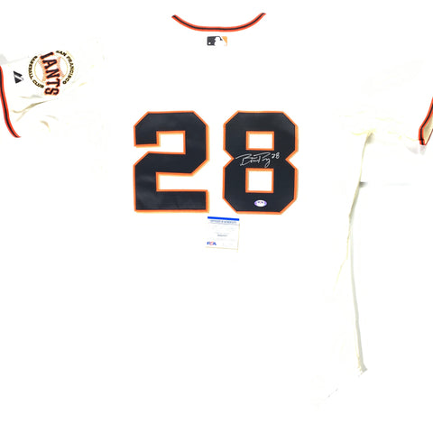 Buster Posey signed jersey PSA/DNA San Francisco Giants Autographed