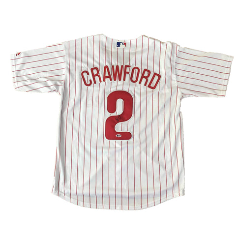 JP Crawford signed jersey BAS Beckett Philadelphia Phillies Autographed