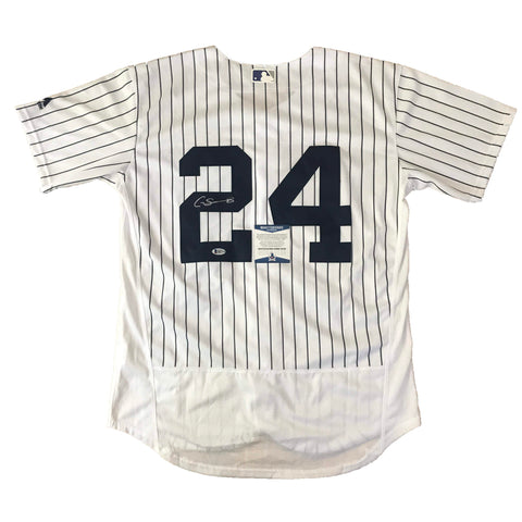 Gary Sanchez signed jersey BAS Beckett Rookie New York Yankees Autographed