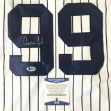 Aaron Judge signed jersey BAS Beckett Rookie New York Yankees Autographed