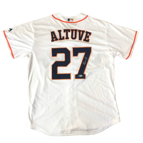 Jose Altuve signed jersey BAS Beckett Houston Astros Autographed