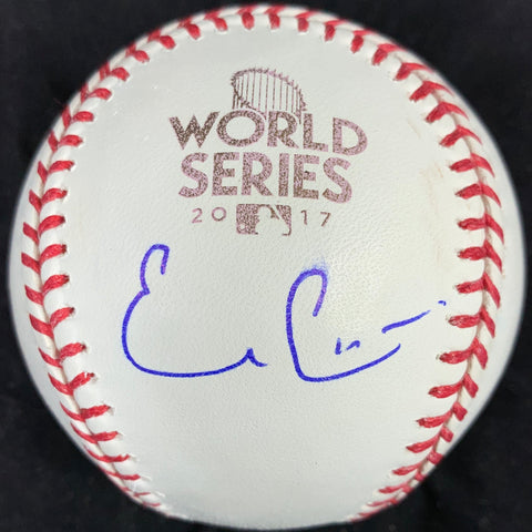 Evan Gattis signed 2017 WS Baseball PSA/DNA Houston Astros autographed