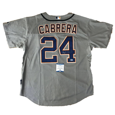 Miguel Cabrera signed jersey BAS Beckett Detroit Tigers Autographed
