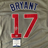 Kris Bryant signed jersey BAS Beckett Chicago Cubs Autographed
