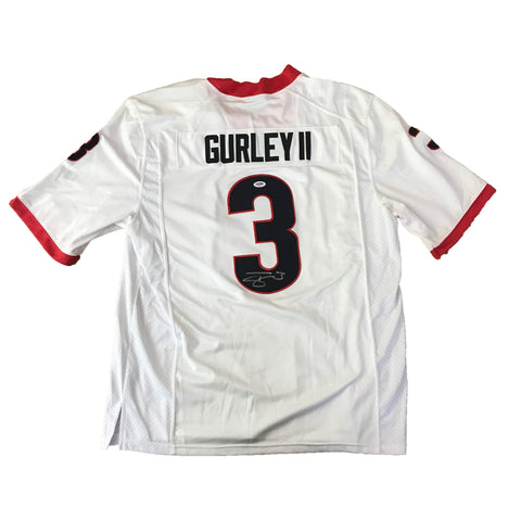 Todd Gurley signed jersey PSA/DNA Georgia Bulldogs Autographed NCAA white