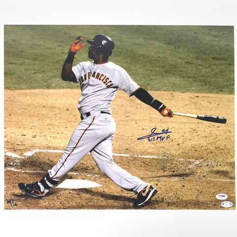 Edgar Renteria signed 16x20 photo PSA/DNA San Francisco Giants Autographed