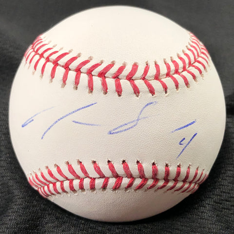 Justus Scheffield Signed Baseball PSA/DNA Seattle Mariners Autographed