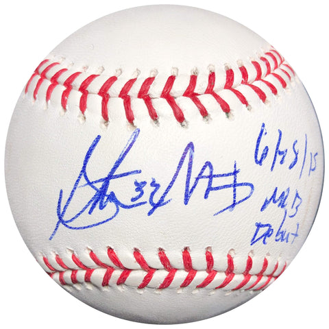 Steven Matz signed baseball PSA/DNA New York Mets autographed