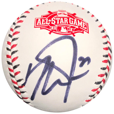Mike Trout signed 2015 All Star baseball PSA/DNA Angels autographed