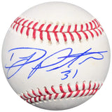 DJ Peters signed baseball PSA/DNA Los Angeles Dodgers autographed