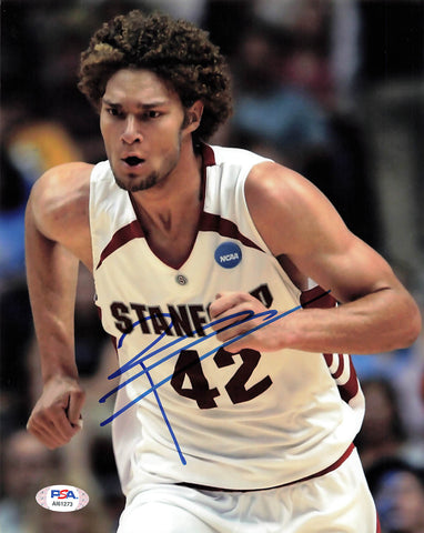 Robin Lopez signed 8x10 photo PSA/DNA Stanford University Autographed