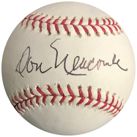 Don Newcombe signed baseball BAS Beckett Brooklyn Dodgers autographed