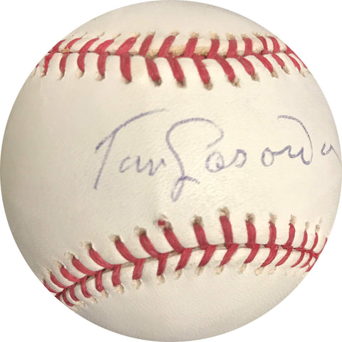 Tommy Lasorda signed baseball BAS Beckett Los Angeles Dodgers autographed Tom