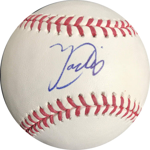 Yadier Alvarez signed baseball BAS Beckett Los Angeles Dodgers autographed