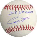 Chris Shaw signed baseball BAS Beckett San Francisco Giants autographed