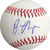 Bubba Thompson signed Baseball BAS Beckett Texas Rangers autographed
