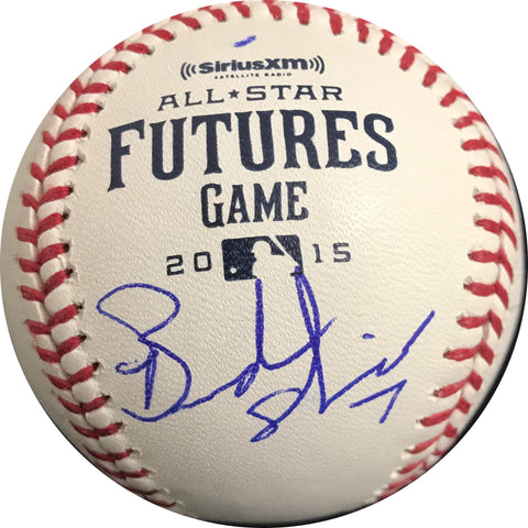 Brandon Nimmo signed baseball PSA/DNA New York Mets autographed