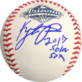 Kyle Tucker signed baseball PSA/DNA Houston Astros autographed INSCRIPTION