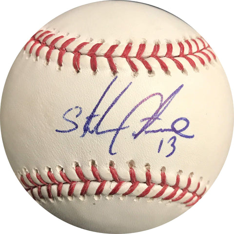 Starlin Castro signed baseball PSA/DNA Miami Marlins autographed