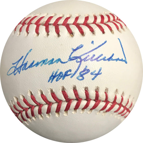 Harmon Killebrew signed baseball BAS Beckett Twins autographed HOF