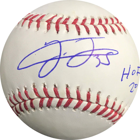 Frank Thomas signed baseball BAS Beckett Chicago White Sox autographed Inscription