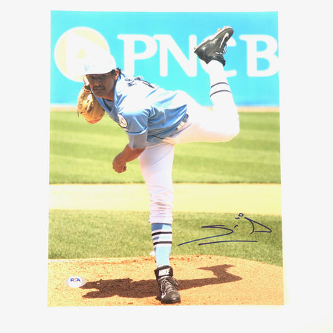 Sean Manaea signed 11x14 photo PSA/DNA Oakland Athletics Autographed