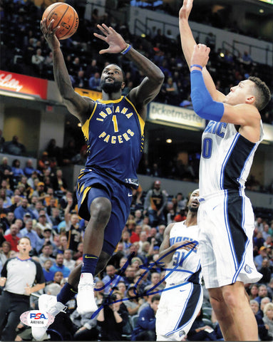 Lance Stephenson signed 8x10 photo PSA/DNA Indiana Pacers Autographed