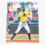 Austin Meadows signed 11x14 photo PSA/DNA Tampa Bay Rays Autographed