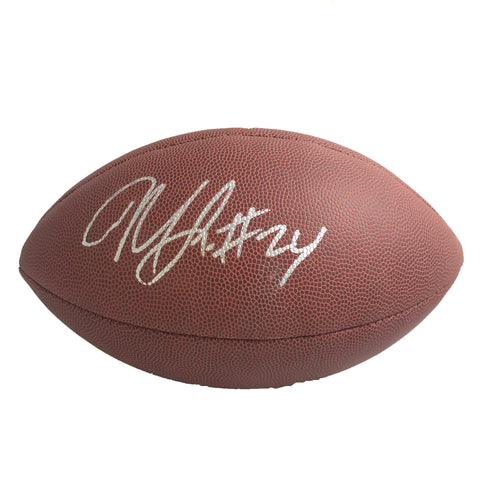 Marshawn Lynch signed Football PSA/DNA Oakland Raiders autographed