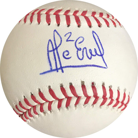 Alcides Escobar signed baseball PSA/DNA Kansas City Royals autographed