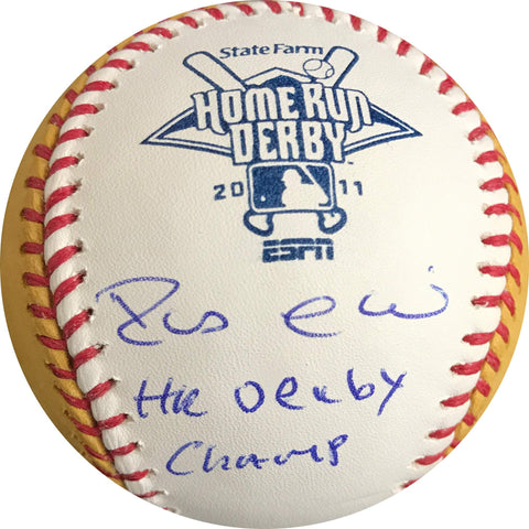 Robinson Cano signed HR Derby baseball JSA COA Mariners autographed