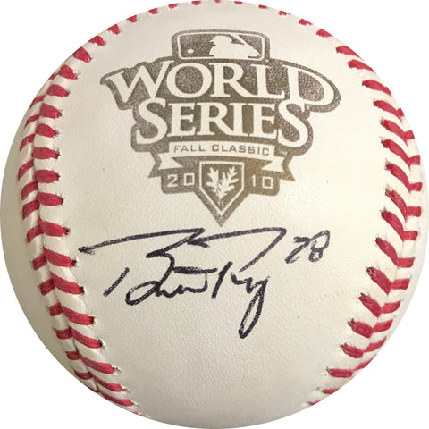 Buster Posey signed 2010 World Series baseball PSA/DNA Giants autographed