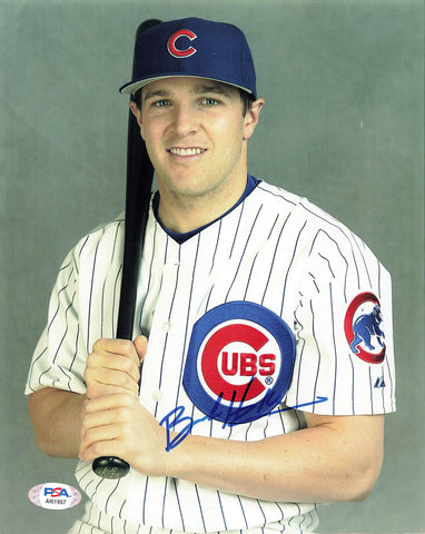 BRENDAN HARRIS signed 8x10 photo PSA/DNA Chicago Cubs Autographed